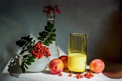 Rowan Berries And Plumpricots