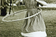 Girl With Hoop
