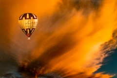 Cloud Formation In Balloon