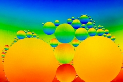 Rainbow Oil Drops