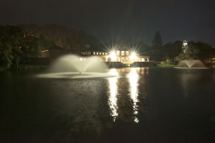 Lakehouse At Night