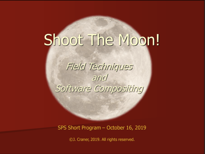 Shoot the Moon - Jim Craner